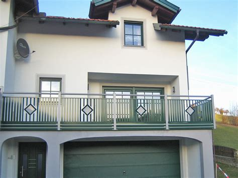 balkongeländer aluminium pulverbeschichtet balkongel 228 nder modell den haag