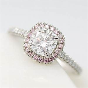 Pink diamond engagement rings taylor hart for Pink diamond wedding rings
