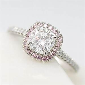 Pink diamond engagement rings taylor hart for Pink diamond wedding rings