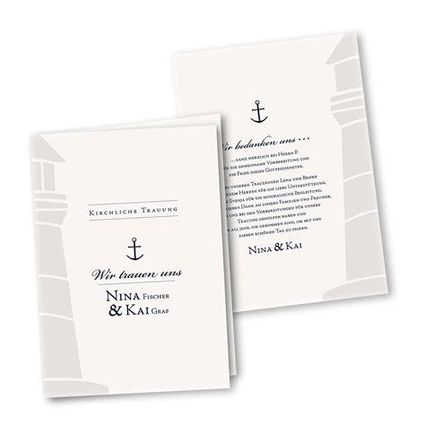 kirchenheft  seiter din  im design maritim