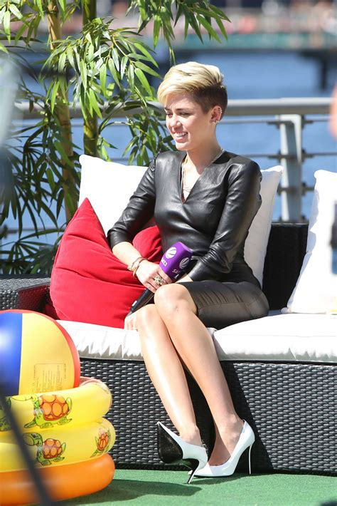 Miley Cyrus On The German Sat 1 Tv Show 13 Gotceleb