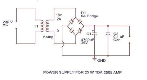 Power Amplifier Circuit Diagram Schematics For