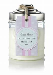 Circa Home Cafe Collection Raisin Toast Scented Candle ...