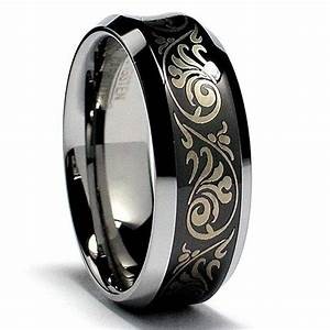 men wedding rings are unique and valuable With black wedding rings for guys