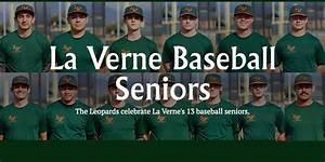 La Verne Honors Baseball Seniors