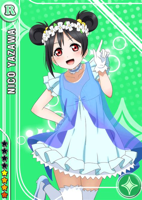 school idol tomodachi cards album  yazawa nico