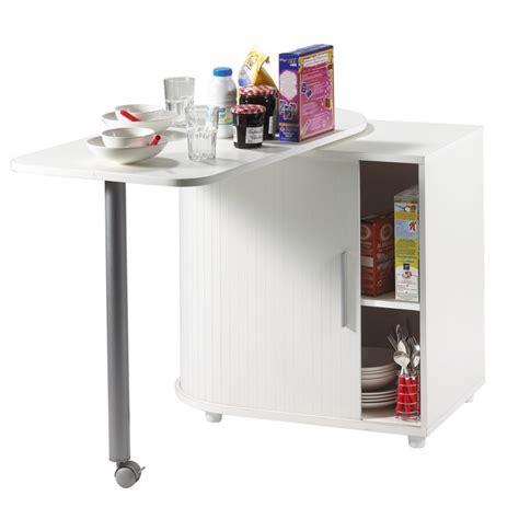 cuisine b table pivotante et meuble de rangement de cuisine blanc