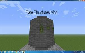 Minecraft 132 Rare Structures And More Mobs Mod Work