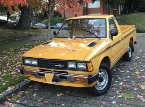 48k-mile 1981 Datsun 720 Pick-up