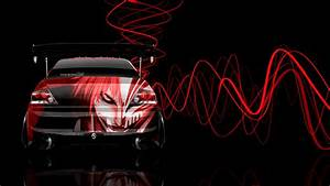 4K Mitsubishi Lancer Evolution JDM Anime Aerography Car