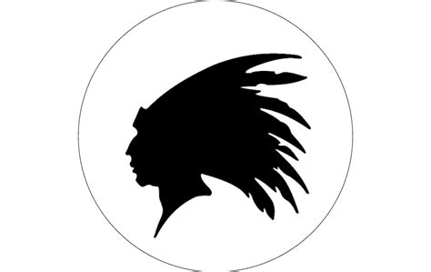 indian head outline dxf file   axisco