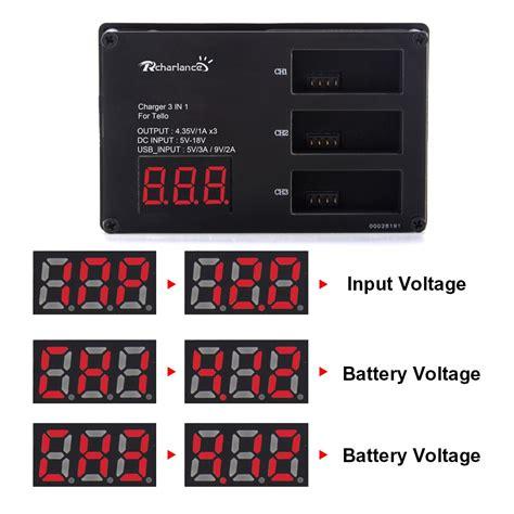 rcharlance charger battery charging hub  dji tello