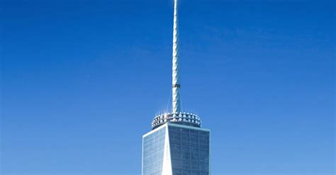 Freedom Tower Observation Deck Height by Paul J Gelinas Jhs Information Center World Trade Center