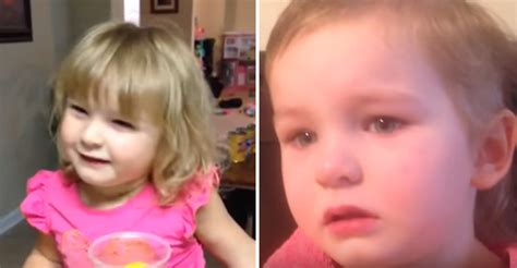 3 year old girl cuts her own hair and her reason is adorable