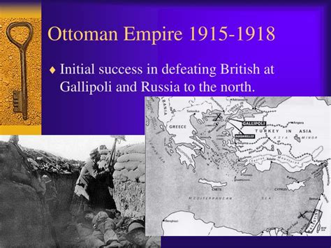 Empire Ottoman 1915 by Ppt Formation Of The Modern Middle East Powerpoint