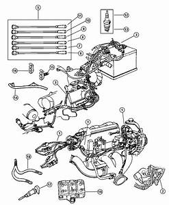 Chrysler Concorde Coil  Ignition  6-cylinder  Engine  Wiring  Related
