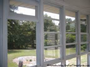 Eze Breeze Clear Alternative Glass Porch Window Nice Vinyl Windows for Screened Porch