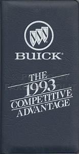 1993 Buick Park Avenue  Ultra And Le Sabre Repair Shop Manual Original Set
