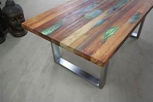 Tisch Aus Holz : tisch aus recyceltem holz der tischonkel ~ Watch28wear.com Haus und Dekorationen