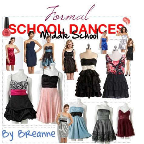 Formal Middle School Dance outfits some of these are cute and would be cute with a jacket ...