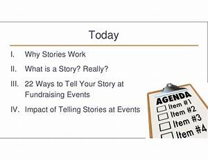 Share Powerful Stories at Your Fundraising Events