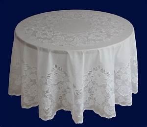 Abwaschbare Tischdecke Rund : vinyl tischdecke abwaschbar mit spitze eckig oval o rund ~ Michelbontemps.com Haus und Dekorationen