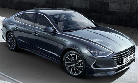 hyundai reveals sleek sonata redesign insider car news