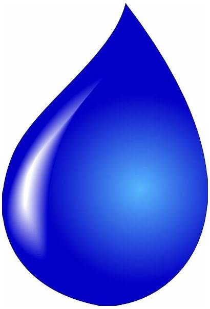 Drop Water Clip Clipart Drops Drawing Svg