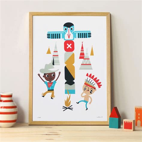 chambre indien poster chambre enfant indien makii