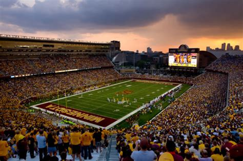 tcf bank stadium sports mortenson