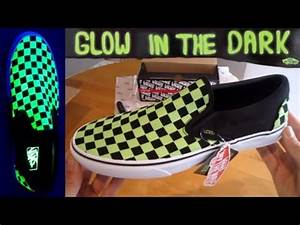 Vans Slip ons GLOW IN THE DARK Unboxing slipons jeff