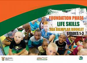 Foundation Phase Life Skills Sba Exemplar Booklet Grade 1 To 3
