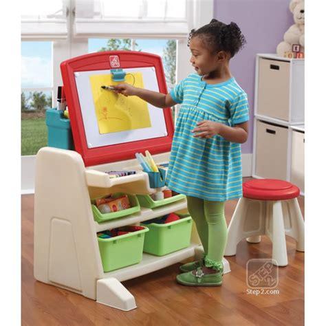 Step2 Art Easel Desk by Step2 Flip Amp Doodle Easel Desk With Stool Lime