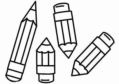 Coloring Pencil Pages Kleurplaat Potloden Van Fun