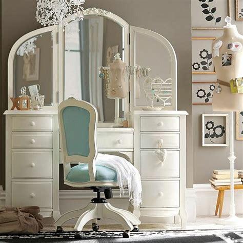 coiffeuse chambre ado chambre ado fille optez pour une déco moderne et colorée
