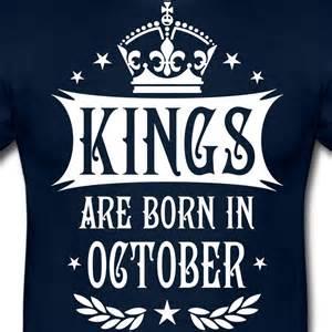 t shirt design verkaufen are born in october king crown deluxe t shirt spreadshirt