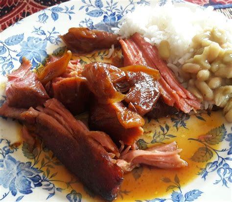 cuisiner palette demi sel palette de porc confite au four l 39 atelier de la corvette