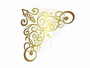 Elegant Gold Border Clip Art (43+)