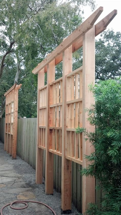 Backyard Privacy Screens Trellis by Cedar Privacy Trellis Wood Crafts Privacy Trellis