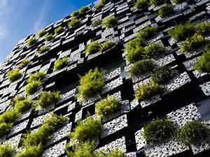 Green, Walls, Green, Cast, Facade, By, Kengo, Kuma, And, Associates