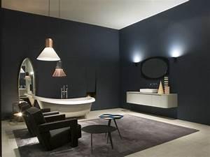 meubles salle de bains en quelques uniques conceptions With salle de bain design avec filet de pêche décoratif