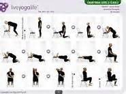 ... Senior Yoga on Pinterest - Chair yoga, Chair exercises and Gail o Exercise for Seniors