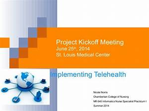 nr 650kickoff powerpoint With project kickoff meeting presentation template