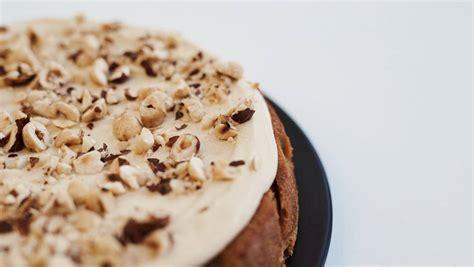 Go for instant coffee, then! Recipe: Jordan Rondel's espresso and hazelnut cake   Stuff.co.nz