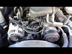 Changing tensioner pulley on 2001 Dodge Neon