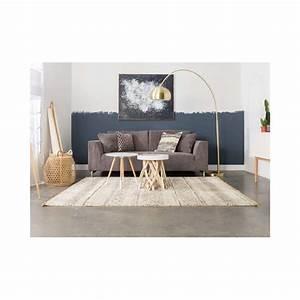 Tapis Beige Salon : tapis de salon beige style nordique polar zuiver ~ Teatrodelosmanantiales.com Idées de Décoration