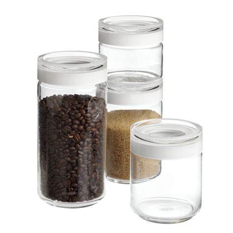 Kitchen Glass Canisters by Inspirations Appealing Glass Canisters For Kitchenware