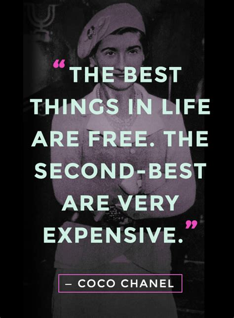 amazing coco chanel quotes  life fashion  true
