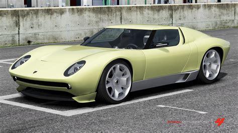lamborghini miura concept forza motorsport wiki fandom