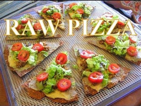 raw food recipes  kids pizza raw vegan delicious